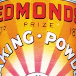 Edmond's baking powder tin