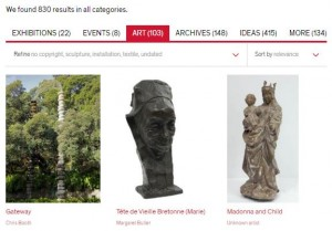 Auckland Art Gallery search results