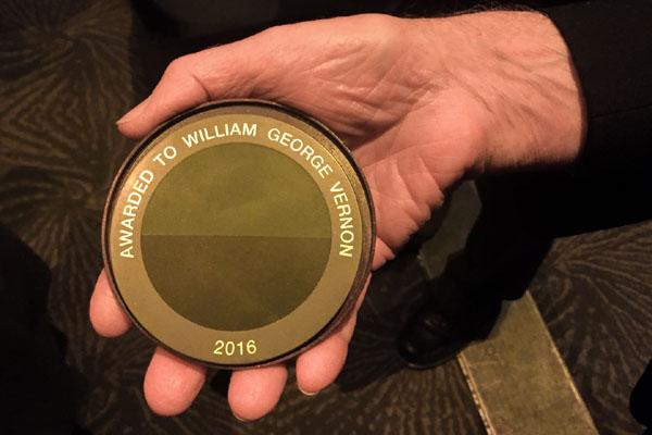 Companion of Auckland War Memorial Museum medal