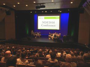 NDF 2016 conference during powhiri