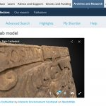 Historic Environment Scotland adds 3D Sketchfab models to their online collection