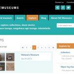 NZ Museums website gets a revamp