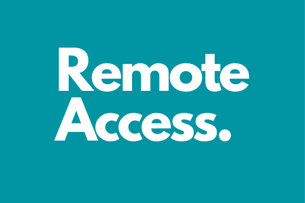 Remote Access Feature Image